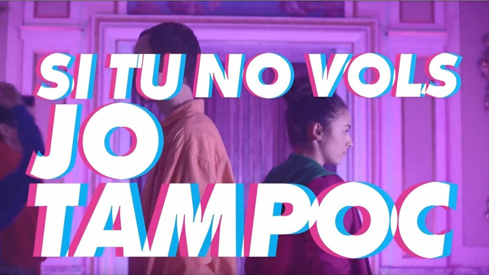 Captura del vídeo musical produït per Canada
