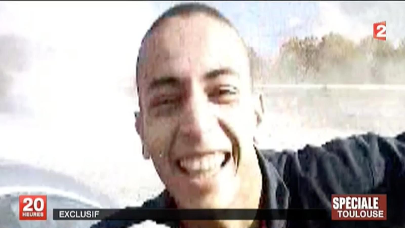 Les primeres imatges de Mohamed Merah, en un vídeo difós per France 2