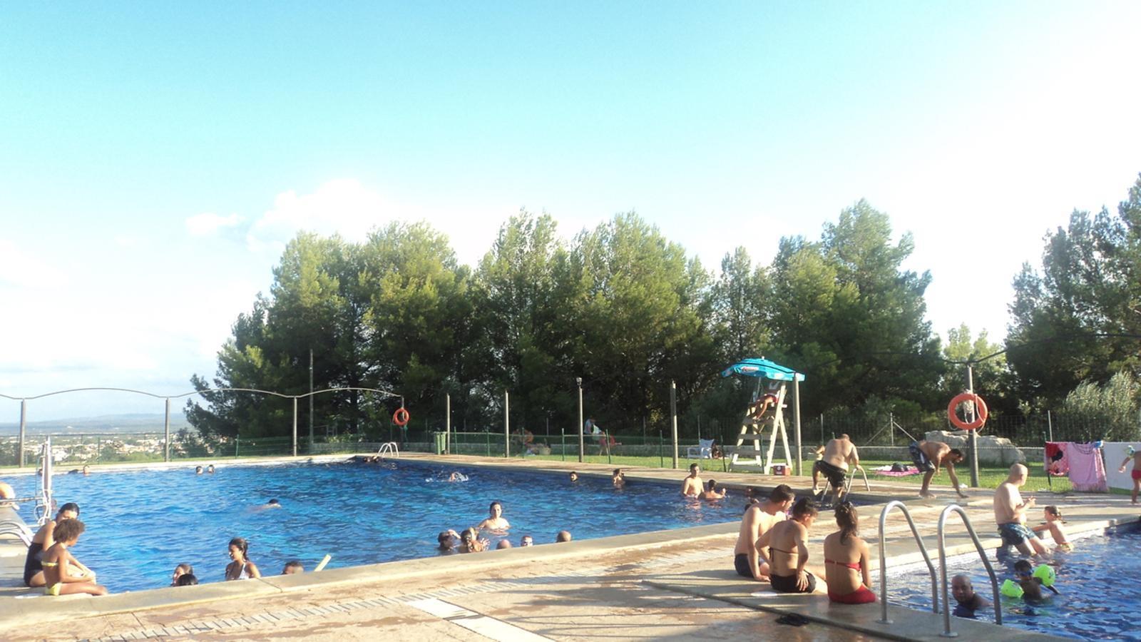 la piscina de can arab torna a la normalitat