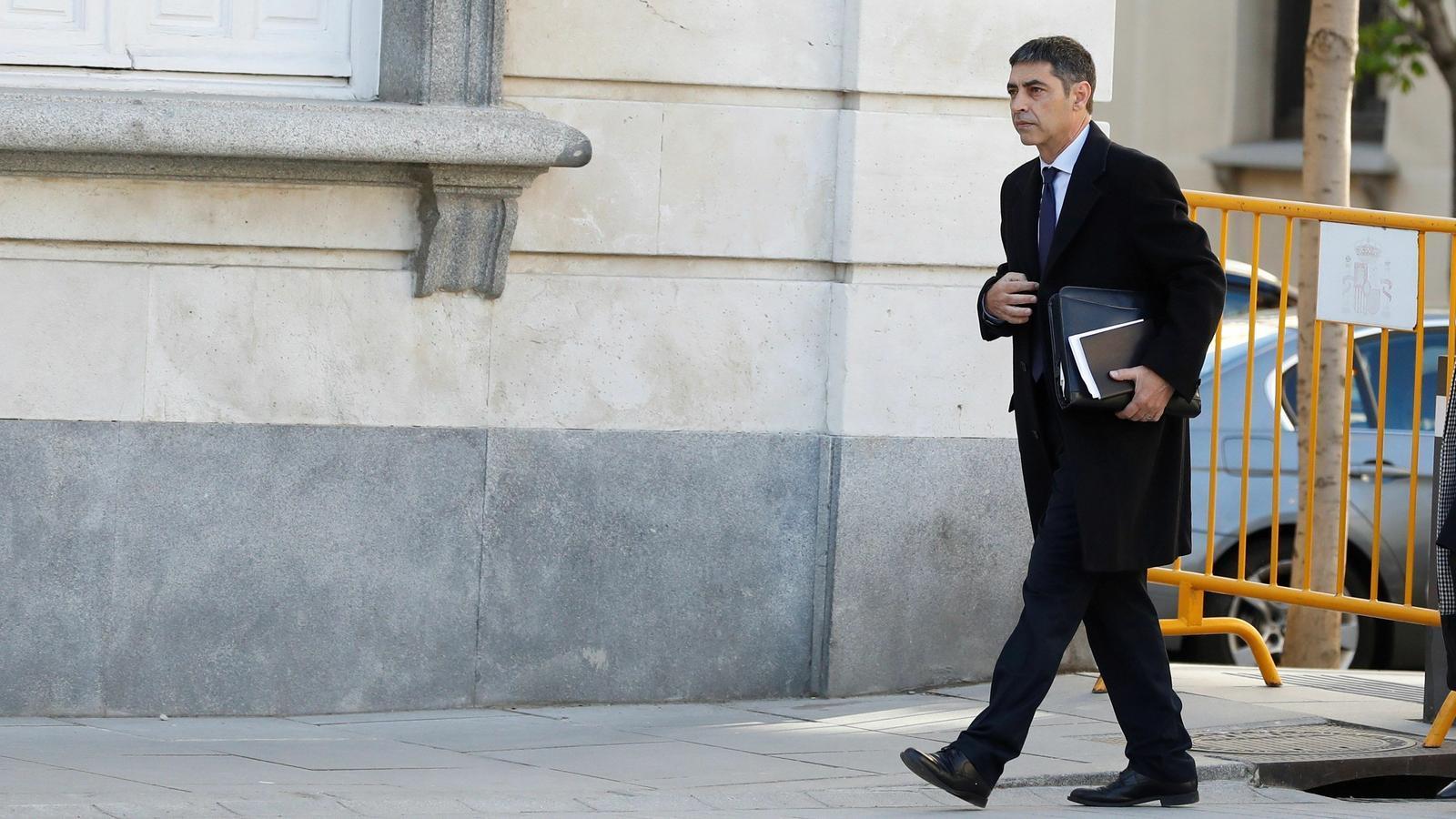 """""""No és veritat que la secretària judicial hagués de sortir camuflada el 20-S"""": frases destacades de la declaració de Trapero"""