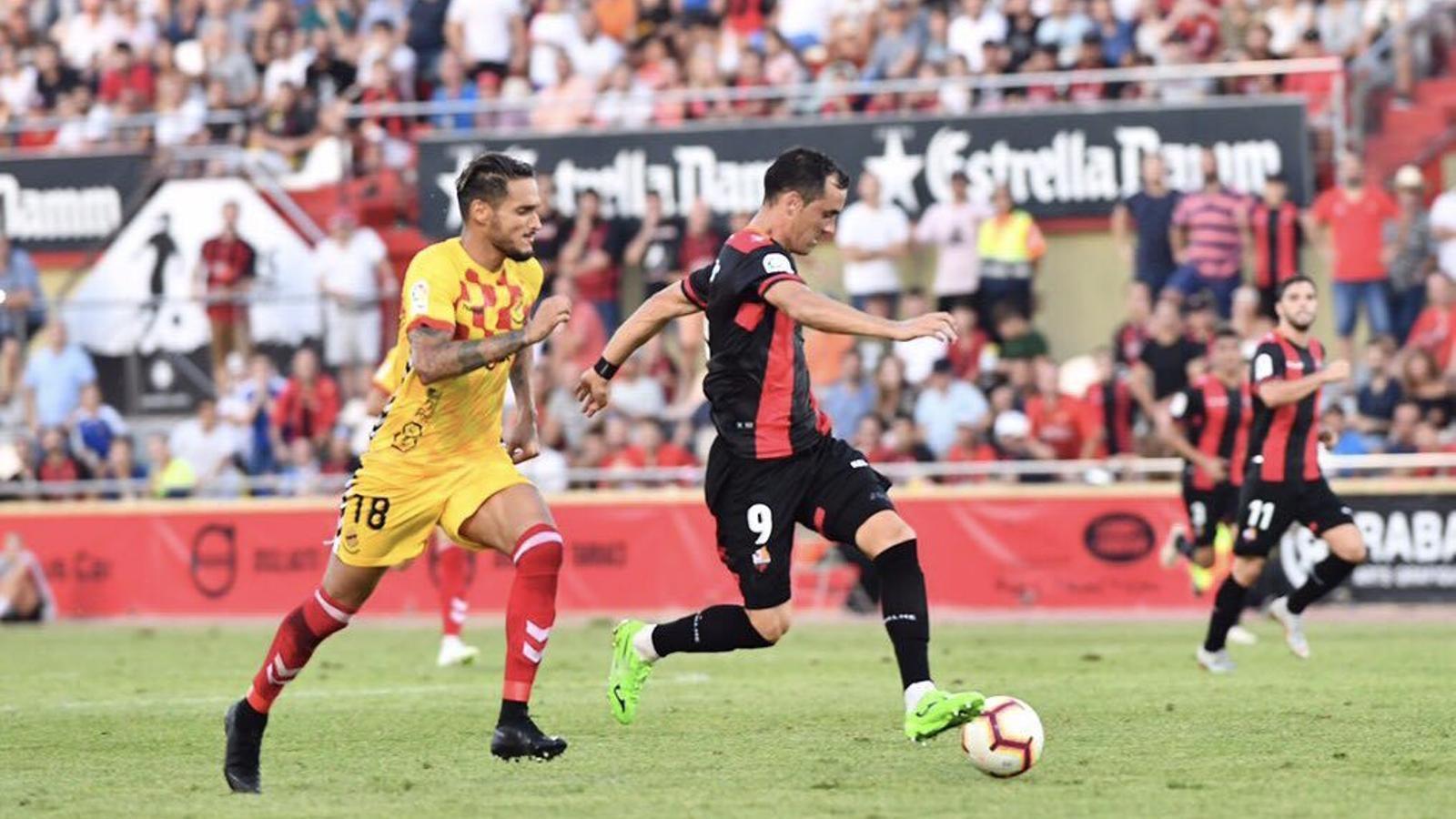 El Reus i el Nàstic es reparteixen els punts en el derbi (1-1)