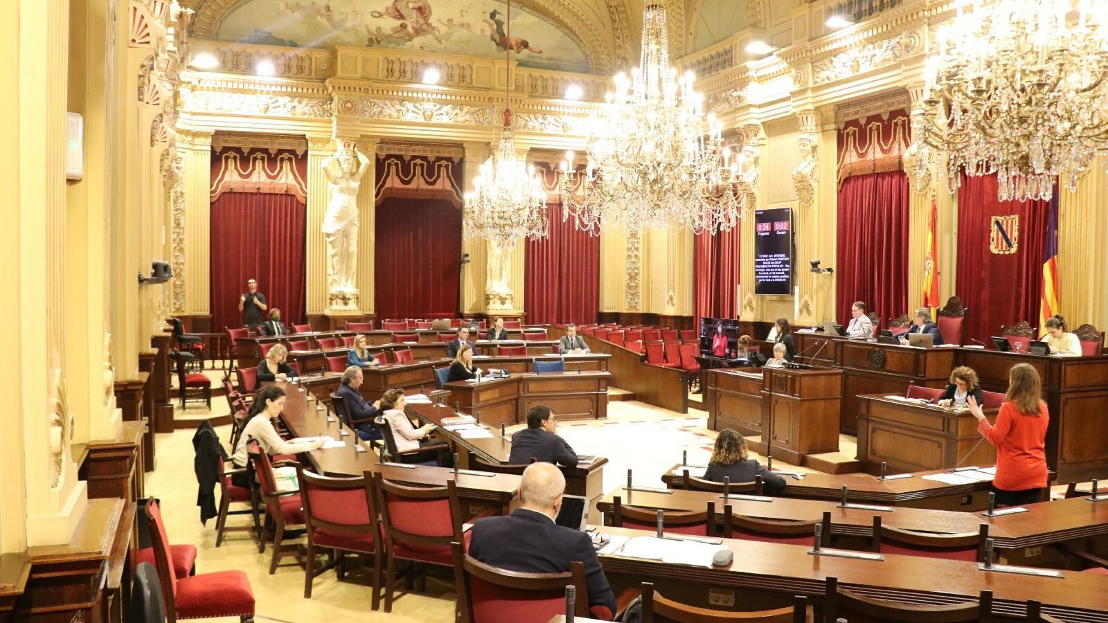 Imatge del ple del Parlament d'aquests dimarts