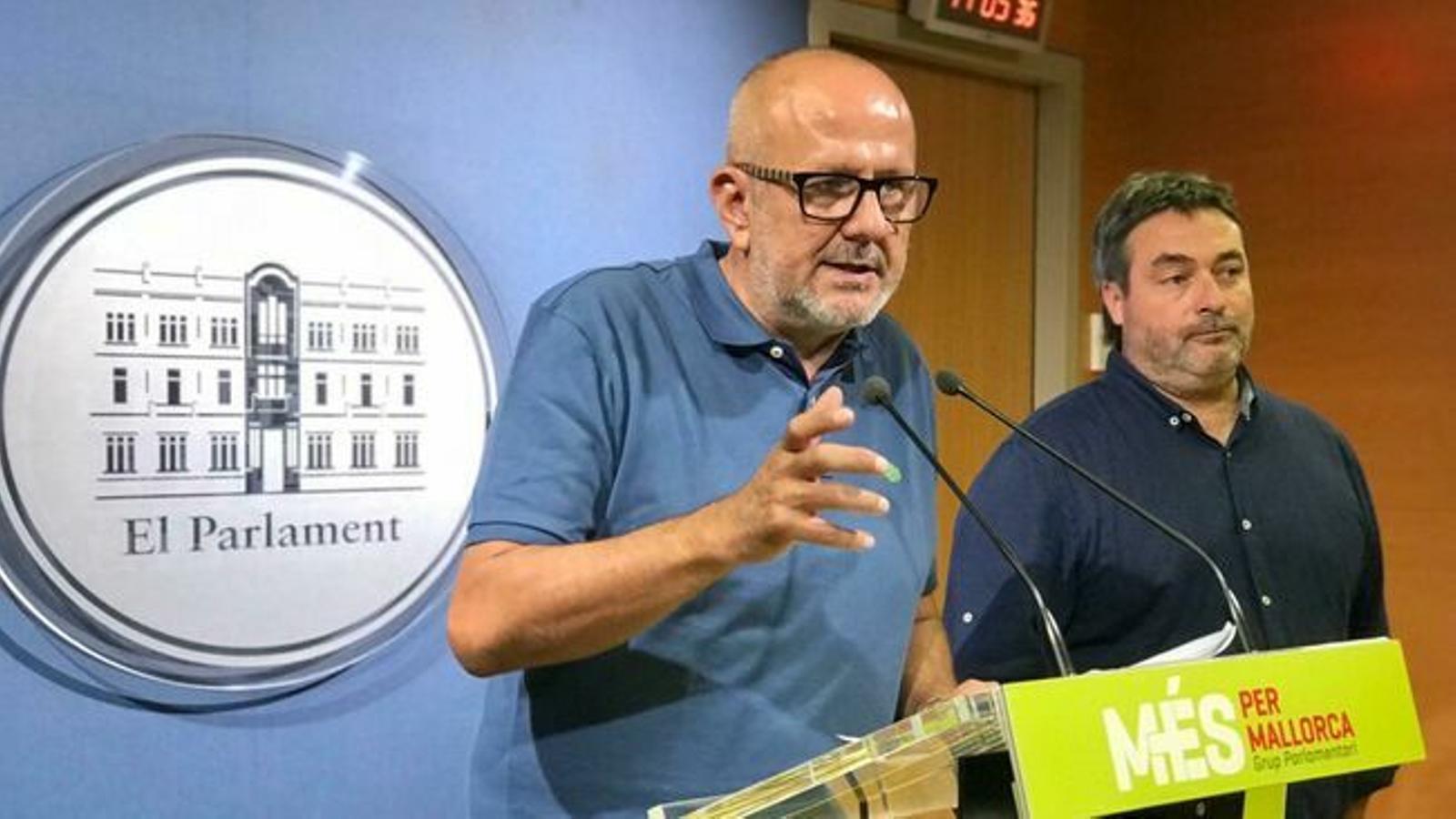 Miquel Ensenyat i Joan Mas/ MÉS PER MALLORCA