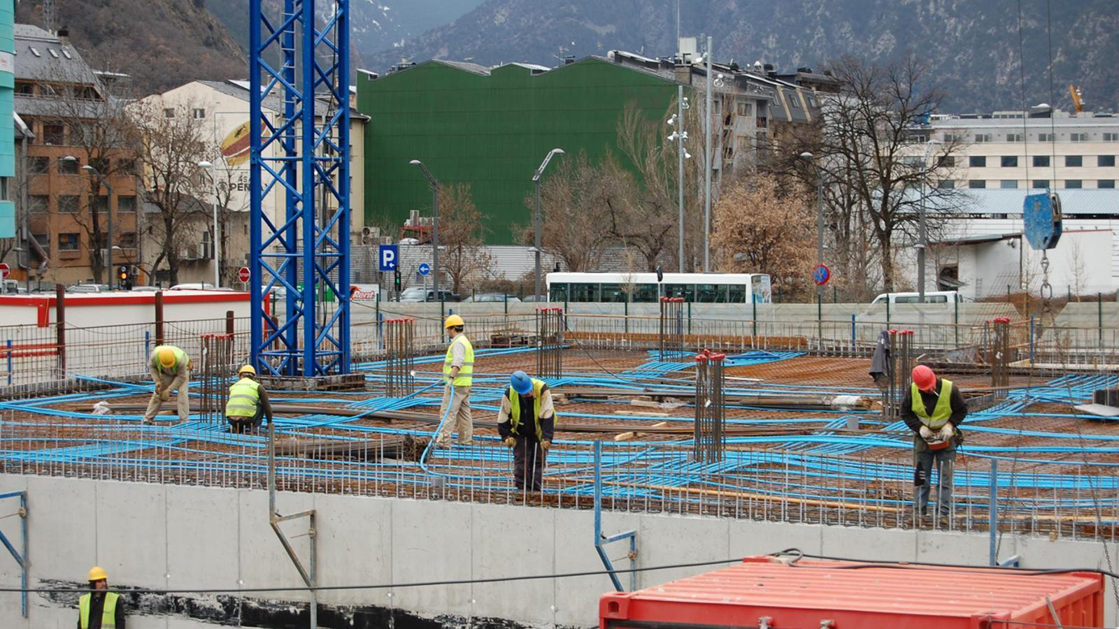 Espanya lidera la caiguda de la construcció de tota l'eurozona al setembre