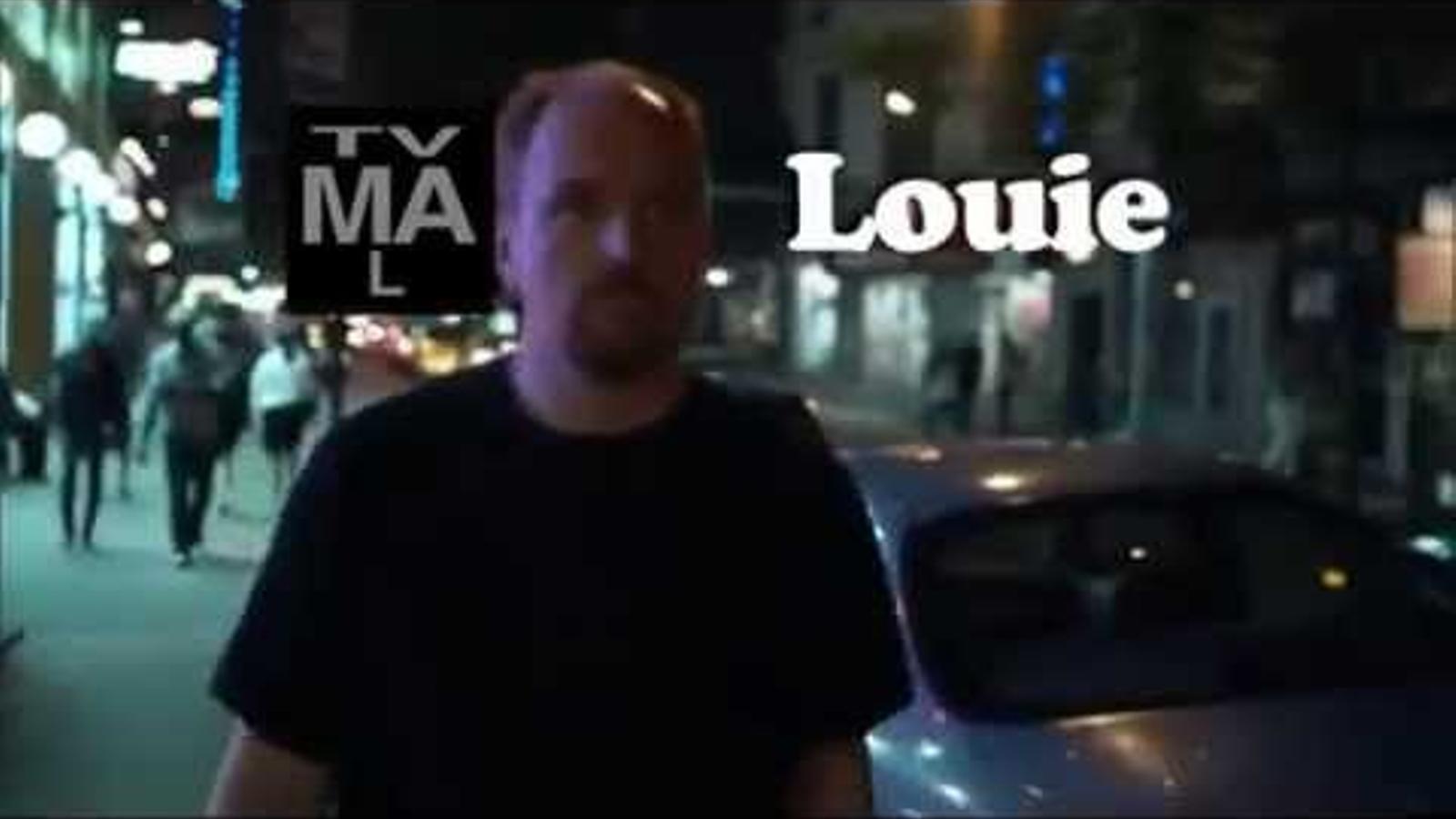 Els crèdits de 'Louie'