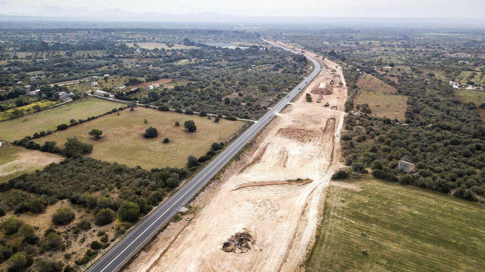 Demanen al Consell de Mallorca que reconsideri la construcció de l'autopista de Campos