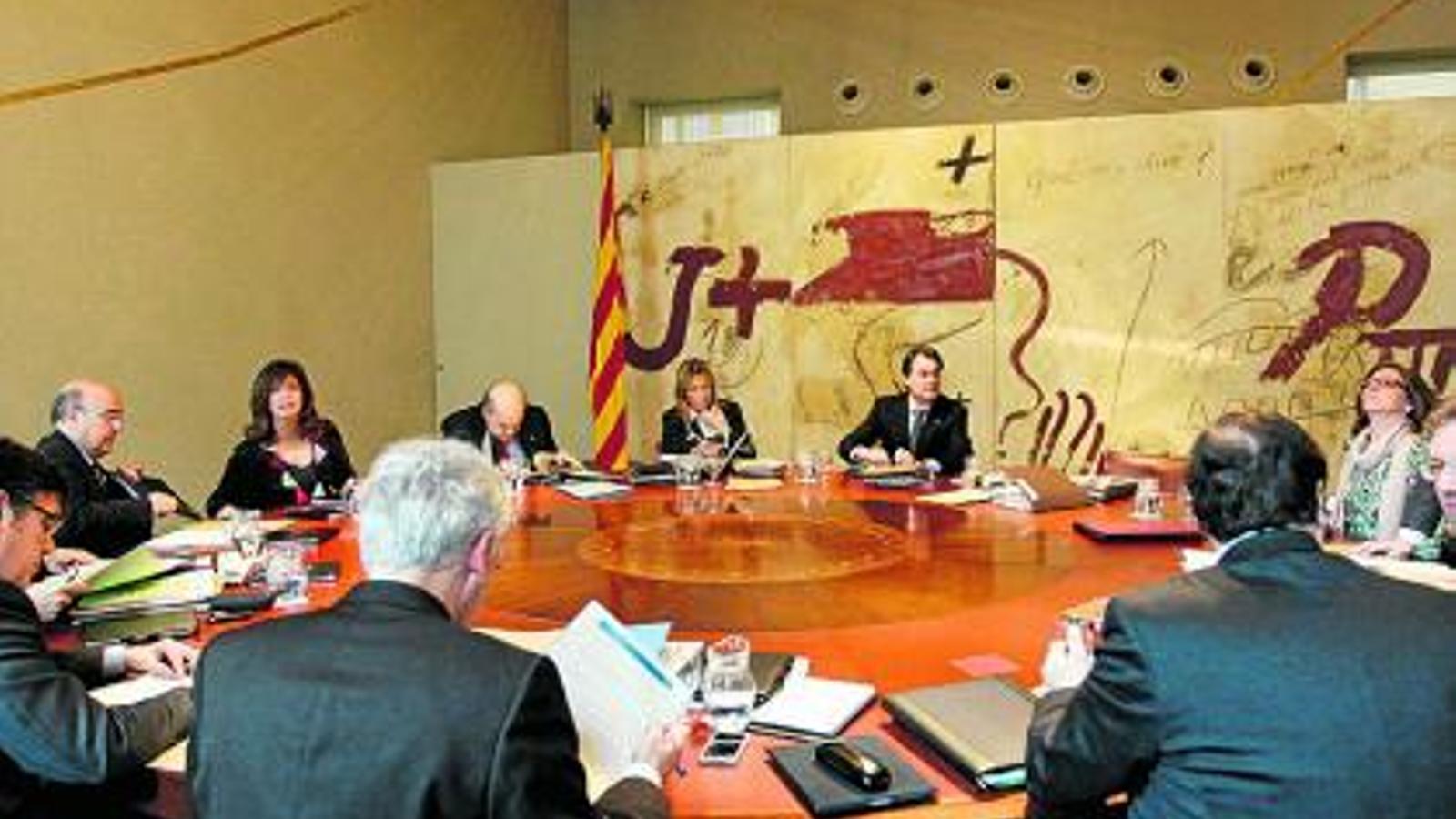 Les reunions del consell executiu del Govern no concreten grans mesures o, com a mínim, de moment no les fan públiques.
