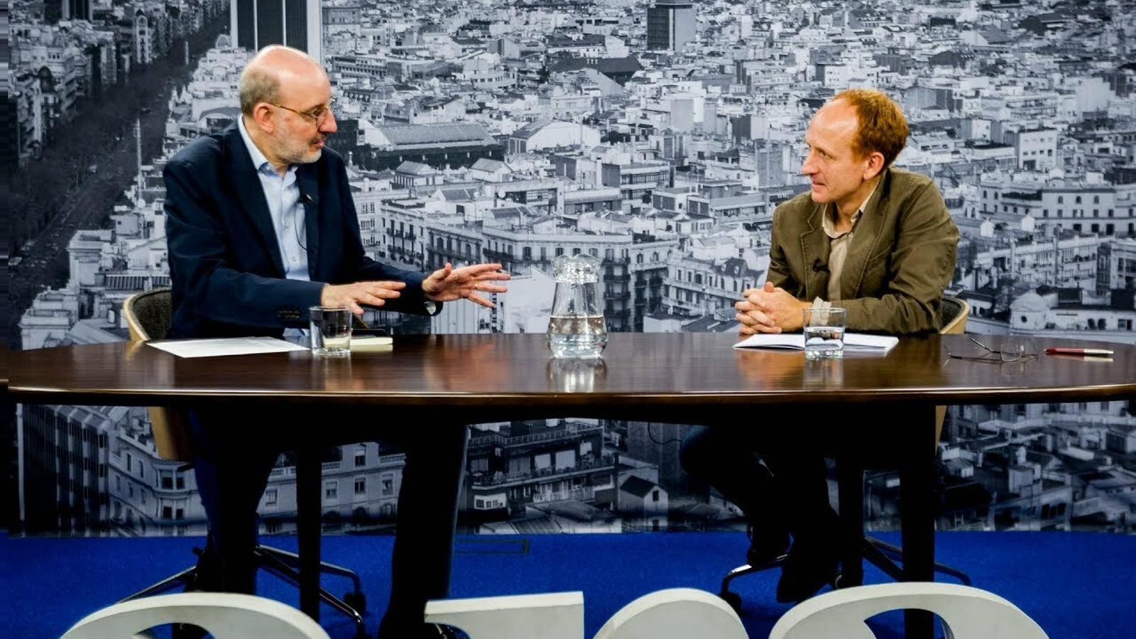 Entrevista d'Antoni Bassas a Daniel Gamper