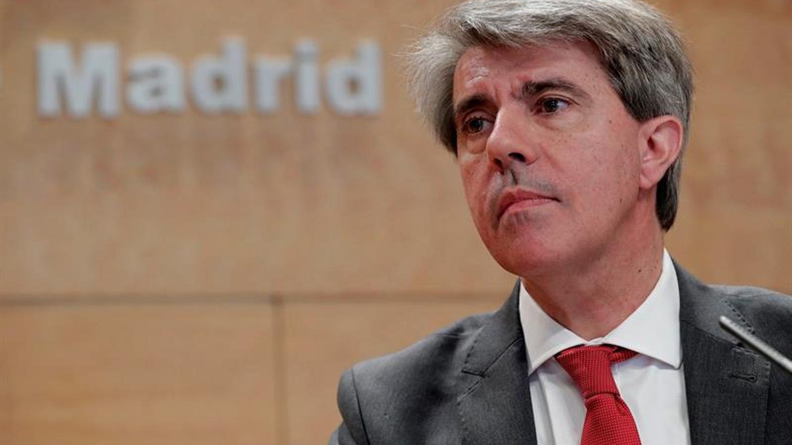 Ciutadans fitxa l'expresident de la Comunitat de Madrid Ángel Garrido, del PP