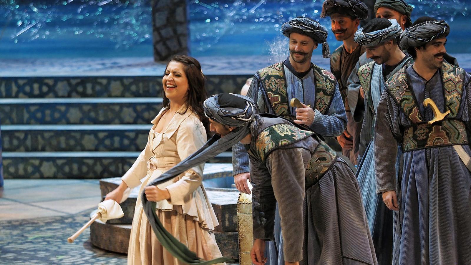 El Liceu acull les peripècies a Alger de la italiana de Rossini
