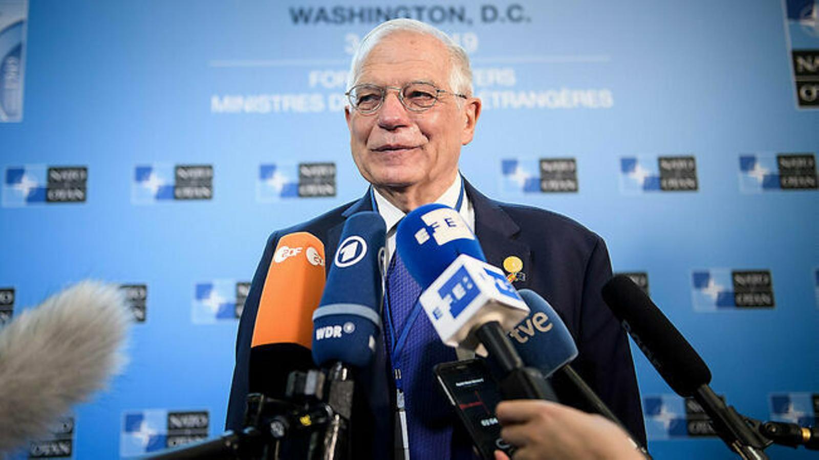 """Borrell descarta el referèndum pactat que reclama Torrent: """"No existeix cap possibilitat"""""""