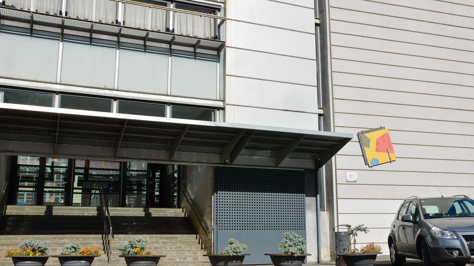 Edifici de l'escola andorrana de Santa Coloma. / ARXIU (ANA)