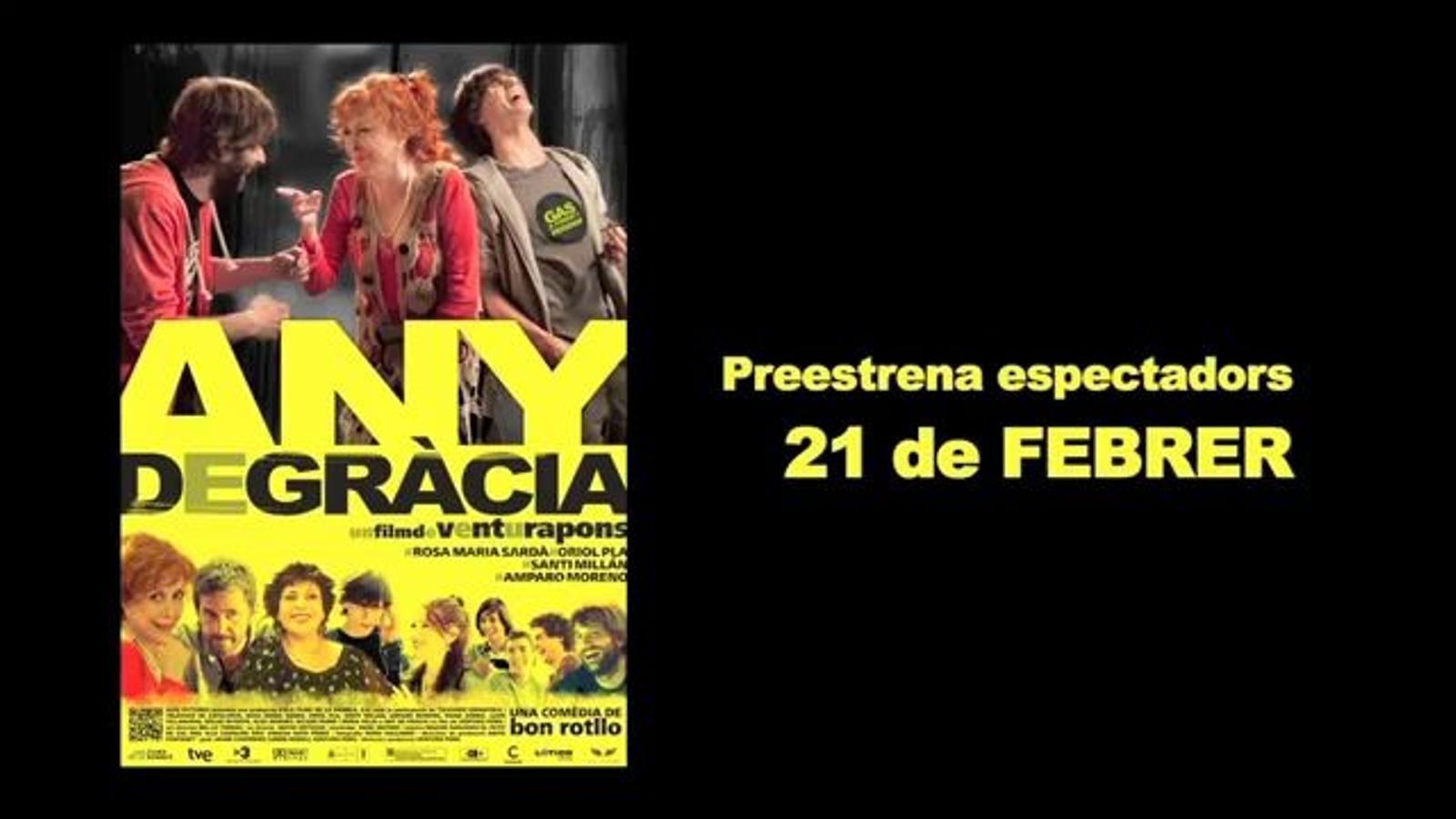 Els lectors de l'ARA convidats a la preestrena d''Any de Gràcia', de Ventura Pons, opinen sobre la pel·lícula