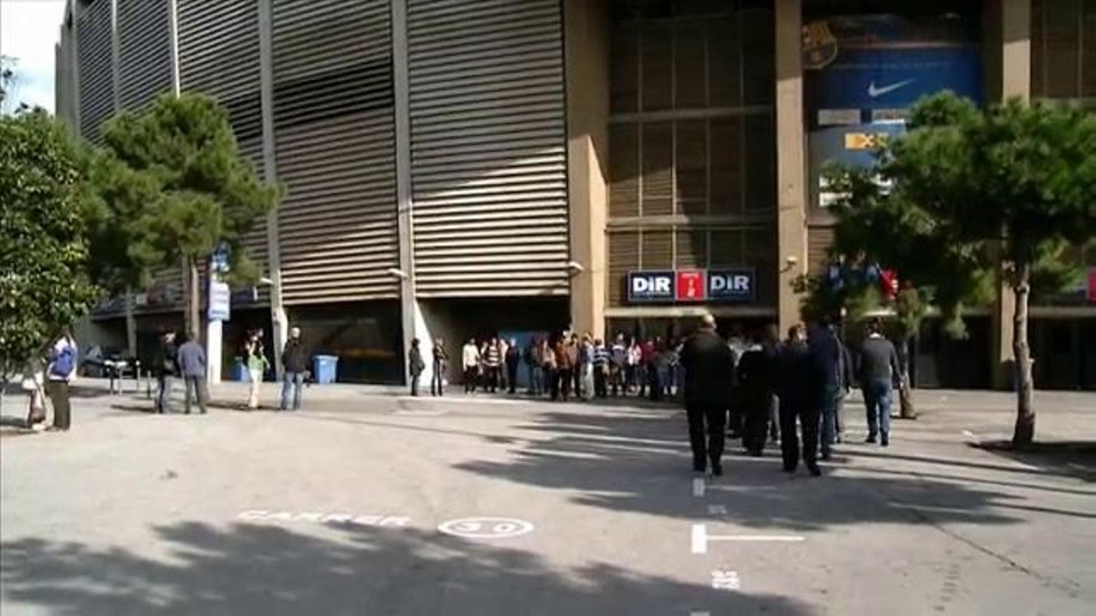 Aturada dels treballadors de Barça TV