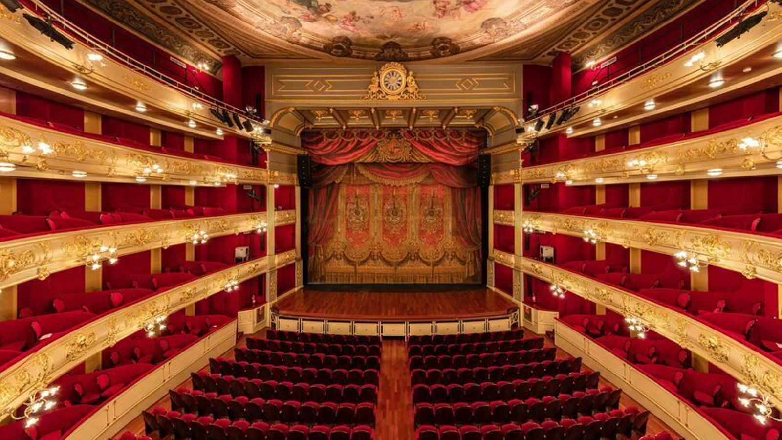 El teatre Principal en una imatge d'arxiu.