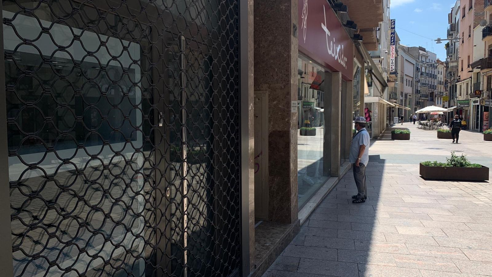 Comerços del centre històric de Lleida