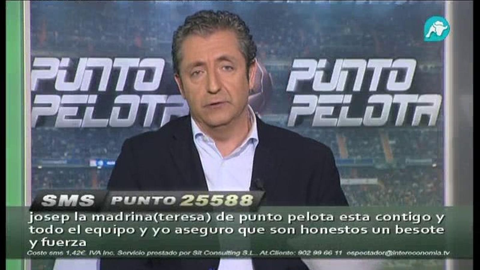 Pedrerol respon les crítiques dirigides a 'Punto Pelota'