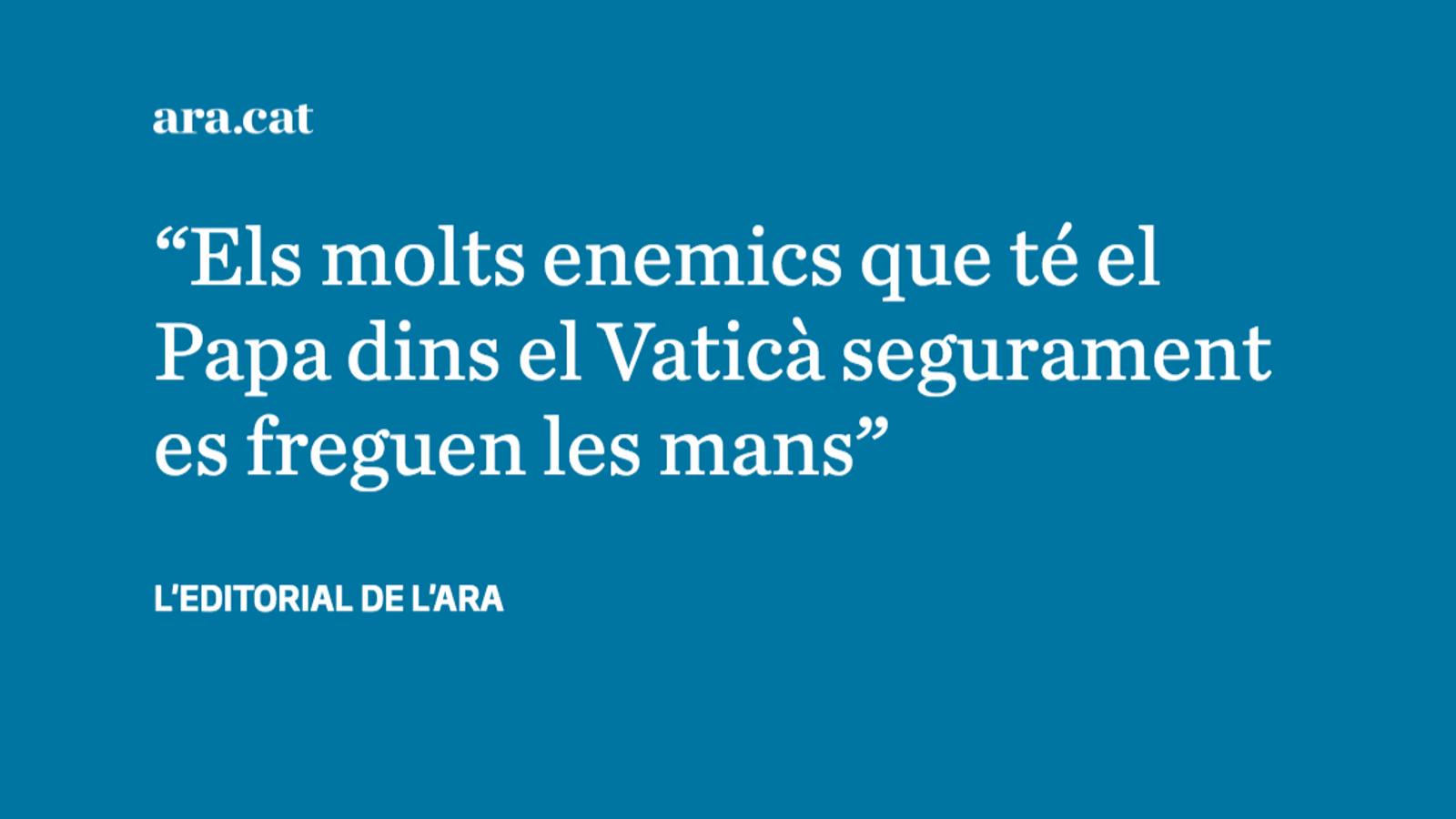 Una cimera vaticana contra els abusos que provoca escepticisme