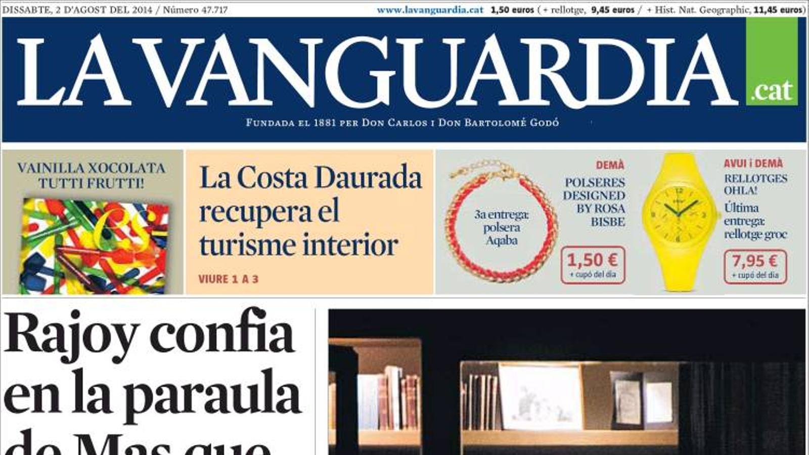 39 la vanguardia 39 troba jordi pujol - Portada de la vanguardia ...