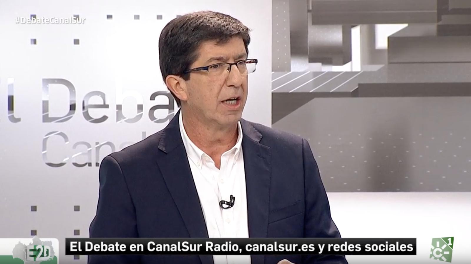 """Juan Marín, candidat de Ciutadans a les eleccions andaluses: """"Com es pot negociar els pressupostos amb qui diu que tenim un gen menys que els catalans?"""""""