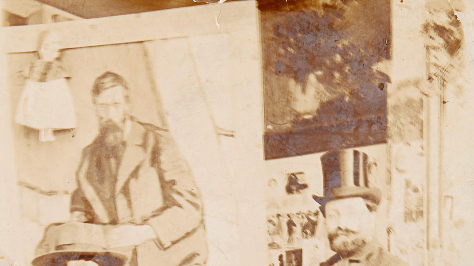 Una fotografia única del jove Picasso, a subhasta