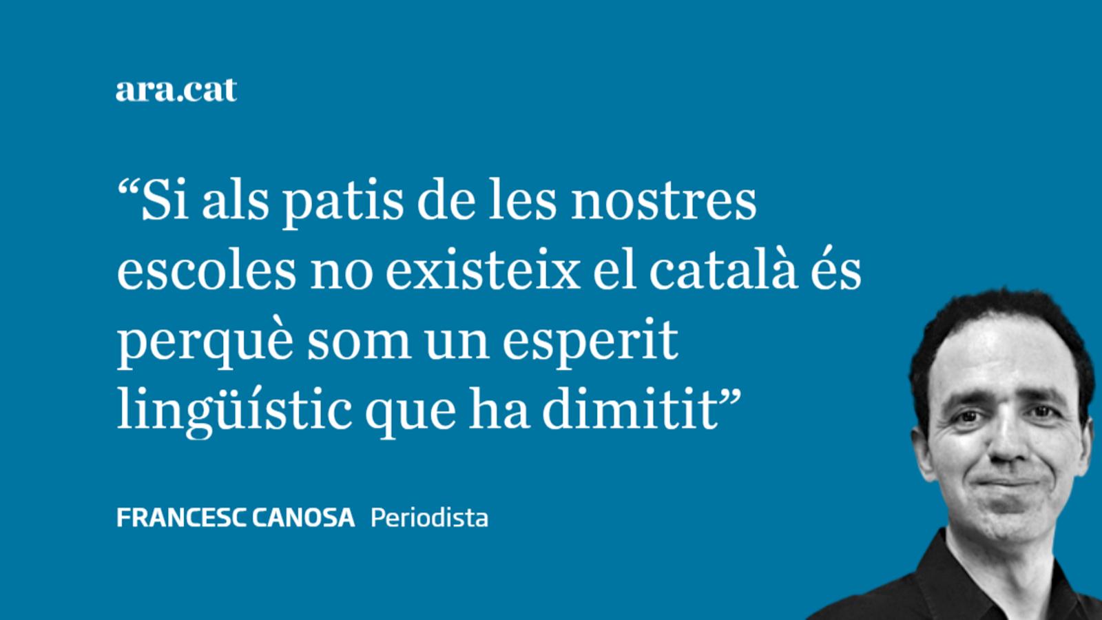 El català fantasmagòric al pati