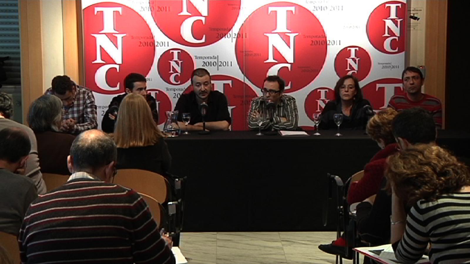 Belbel, en la presentació de 'Gang bang': El dia que hagi de censurar un creador, dimitiré