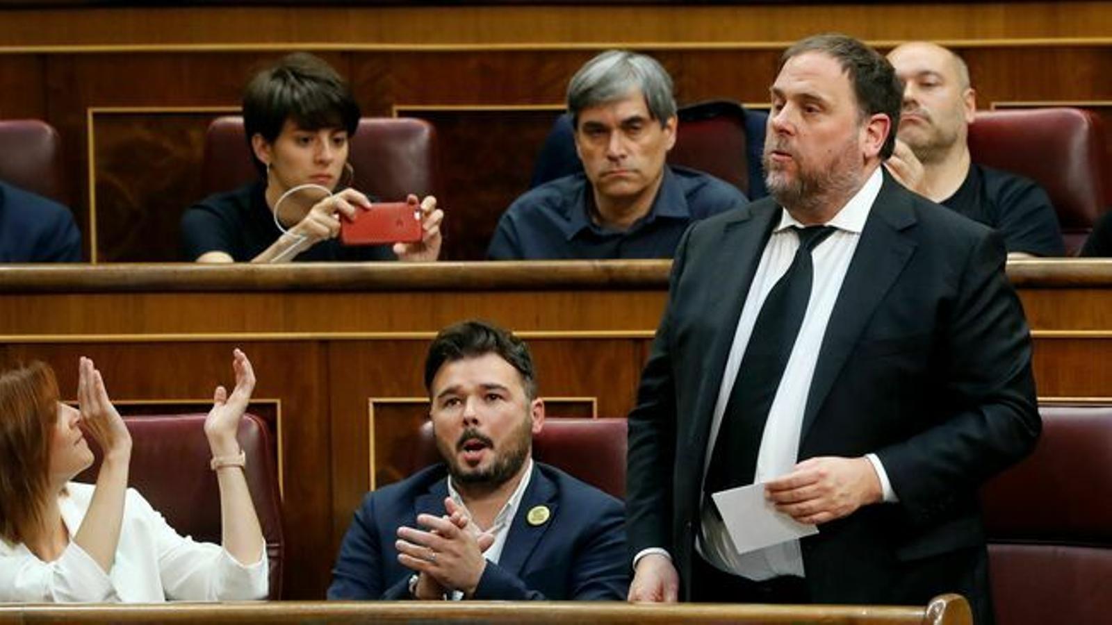 L'advocat de la UE defensa que Junqueras tenia immunitat