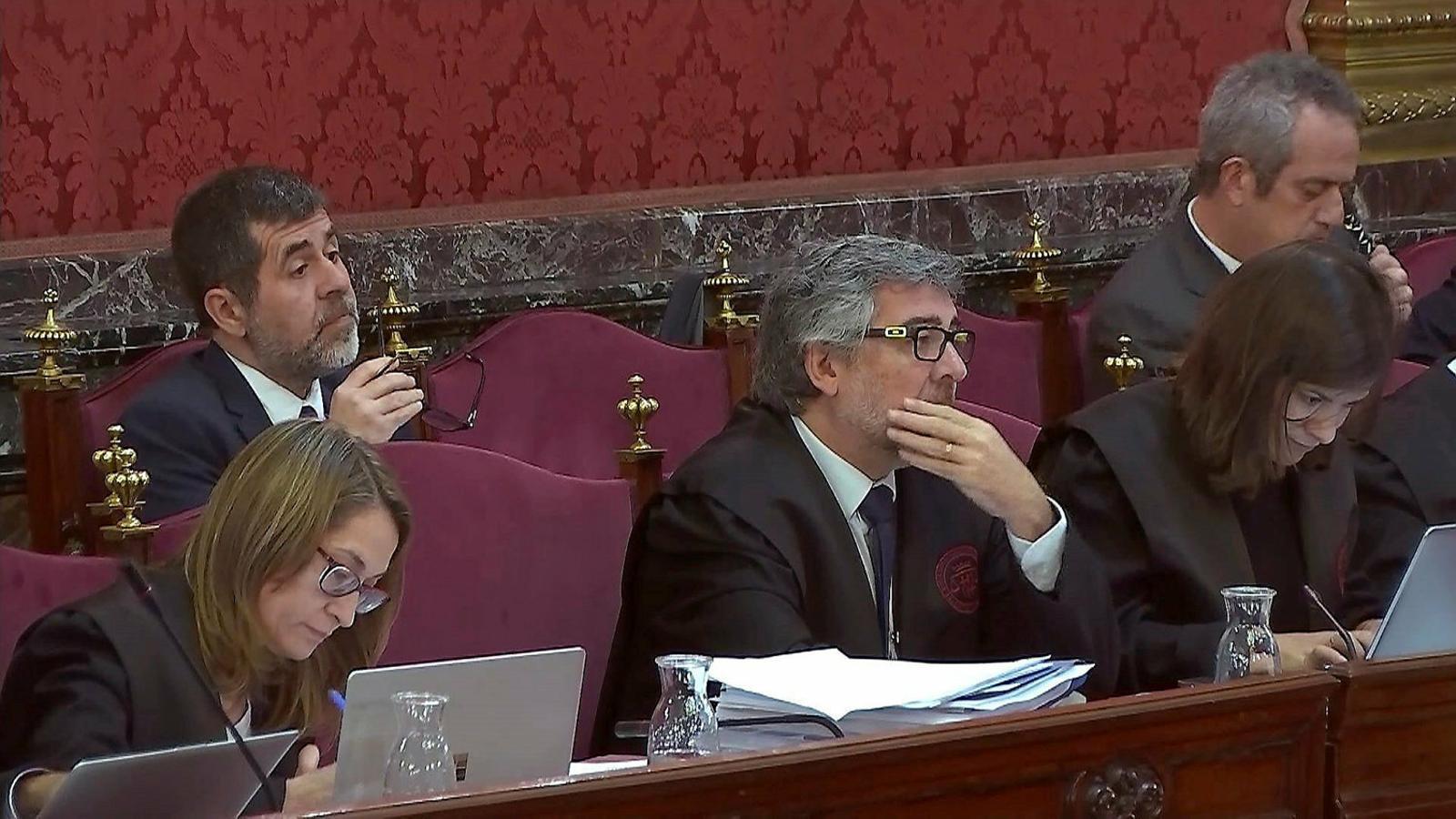 Jordi Sànchez demana fer un debat de candidats del 28-A a Soto del Real