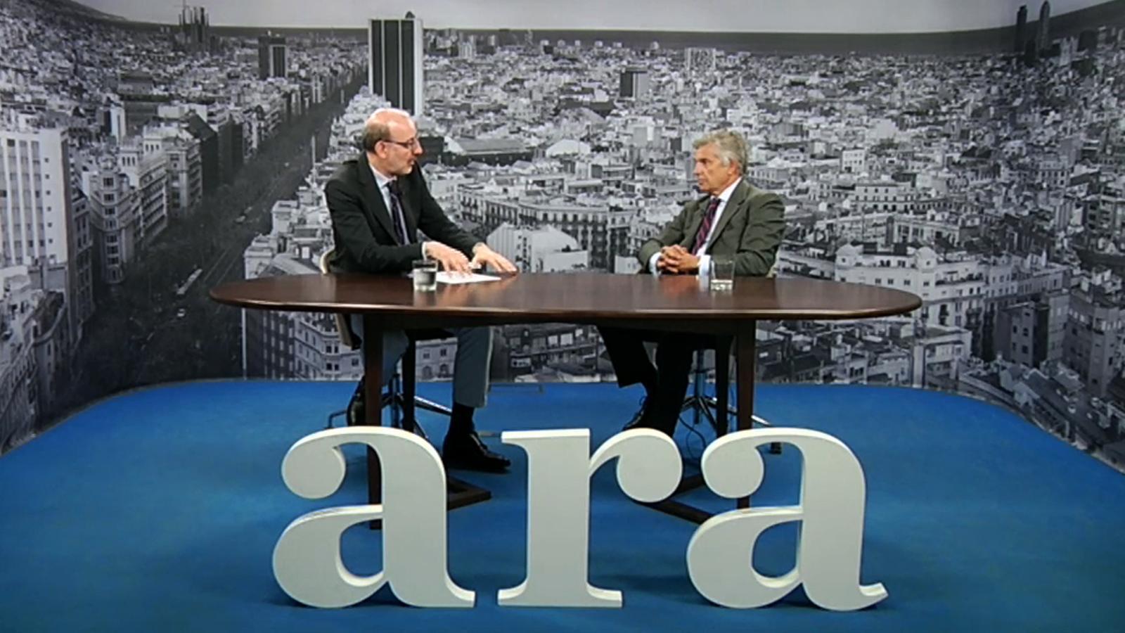 Entrevista d'Antoni Bassas a J. A. Samaranch Salisachs