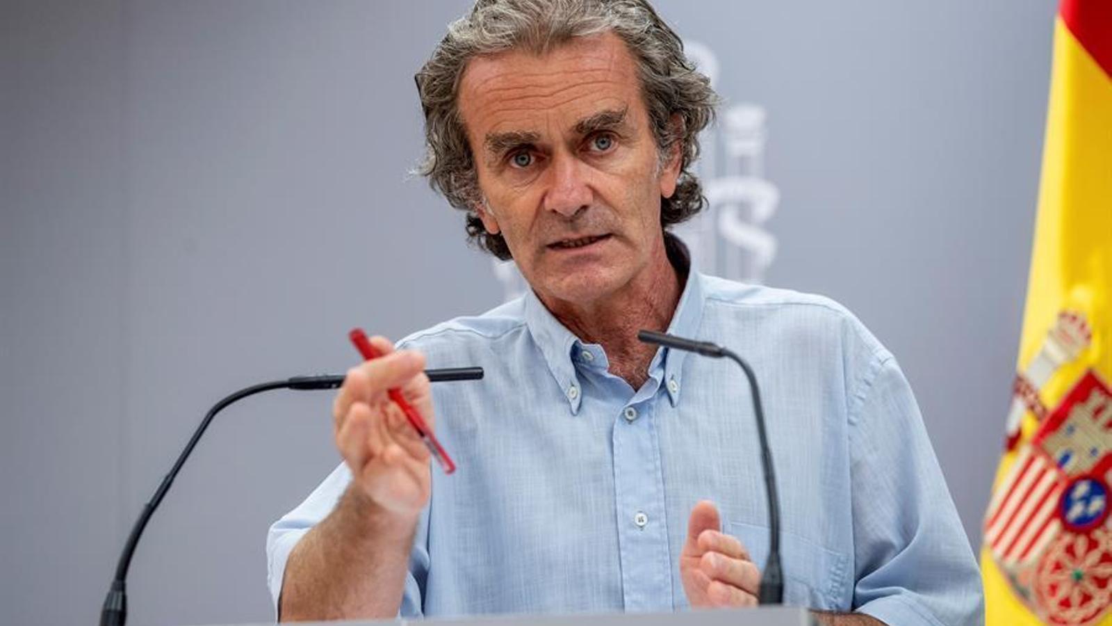 EN DIRECTE | Fernando Simón informa sobre l'evolució del covid-19 a l'Estat