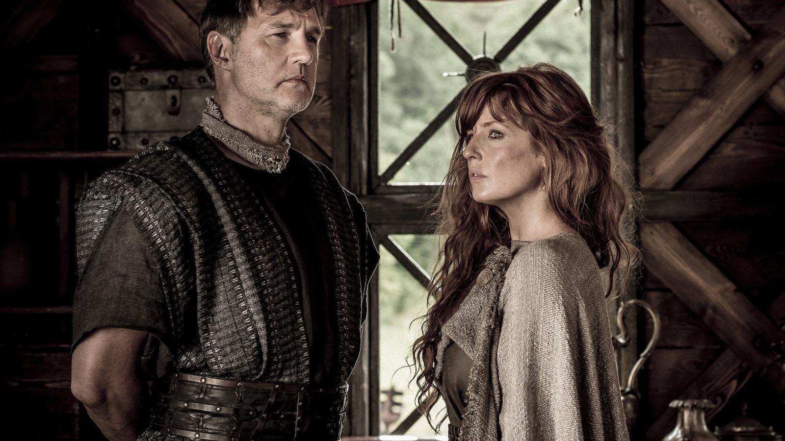 La guerrera Kerra s'enfronta als invasors romans, comandats per Aule Plauci.