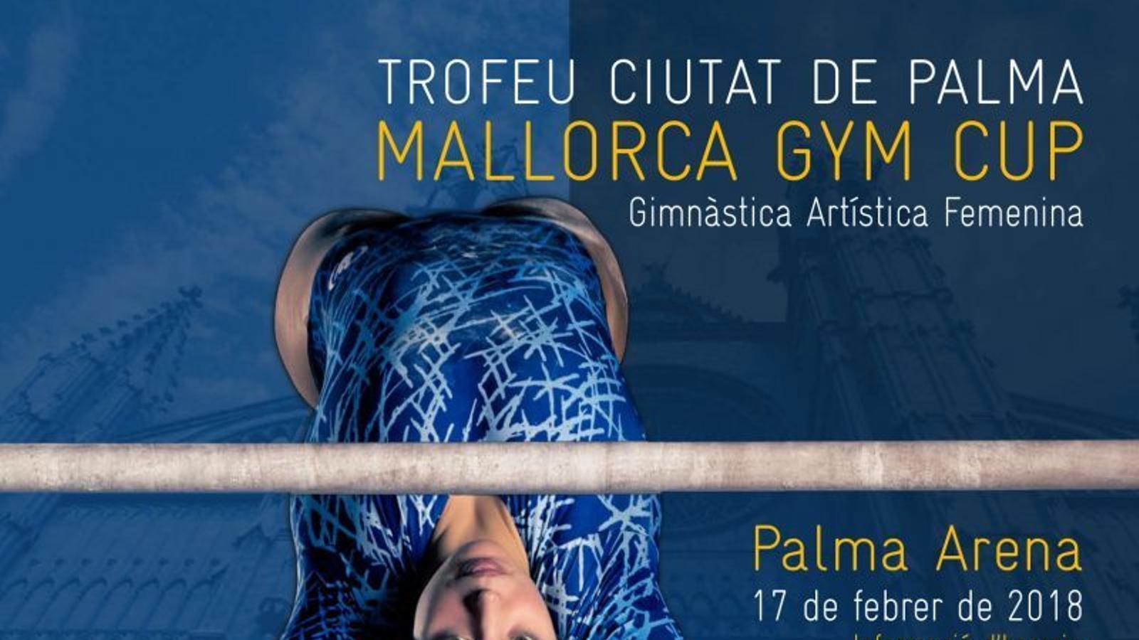 Cartell del Trofeu Ciutat de Palma MALLORCA GYM CUP
