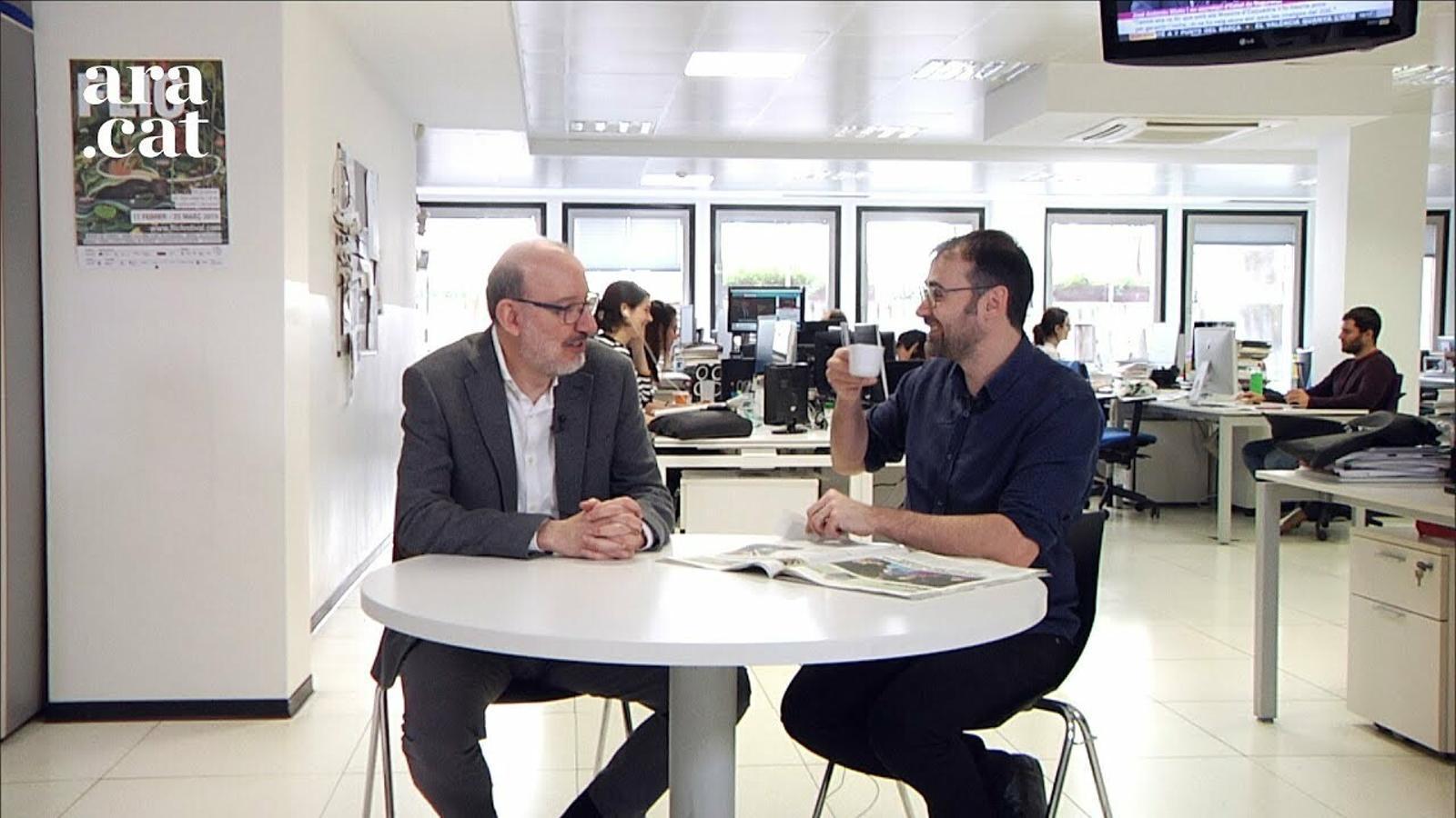 El cafè de la Lliga: Valverde i Piqué, triomfadors del febrer
