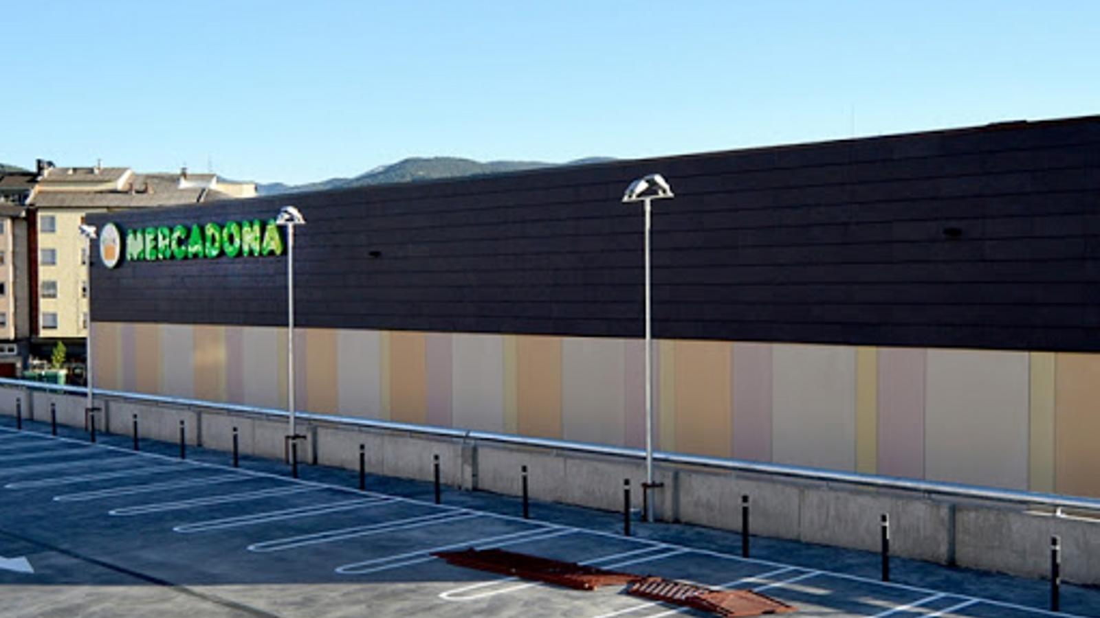 El Mercadona de la Seu d'Urgell. / ARXIU
