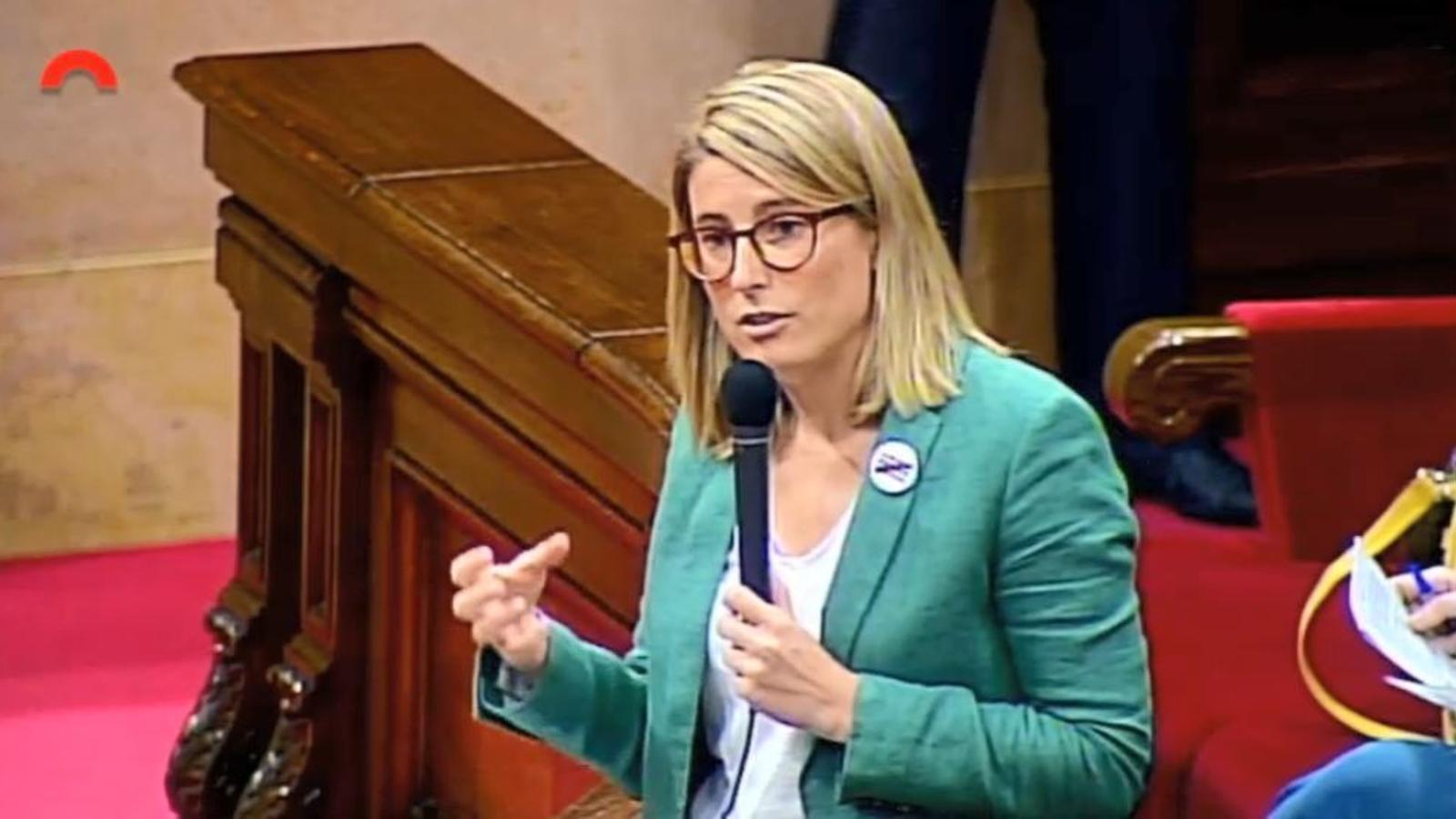 EN DIRECTE: Sessió de control als consellers i al president de la Generalitat