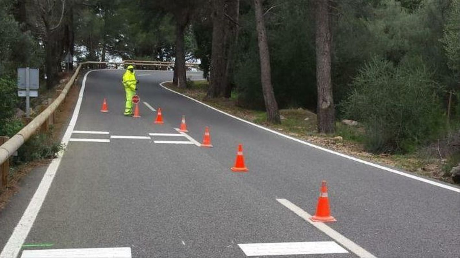 Limitació de velocitat i avançaments prohibits: les noves mesures del Consell per la carretera de la Serra