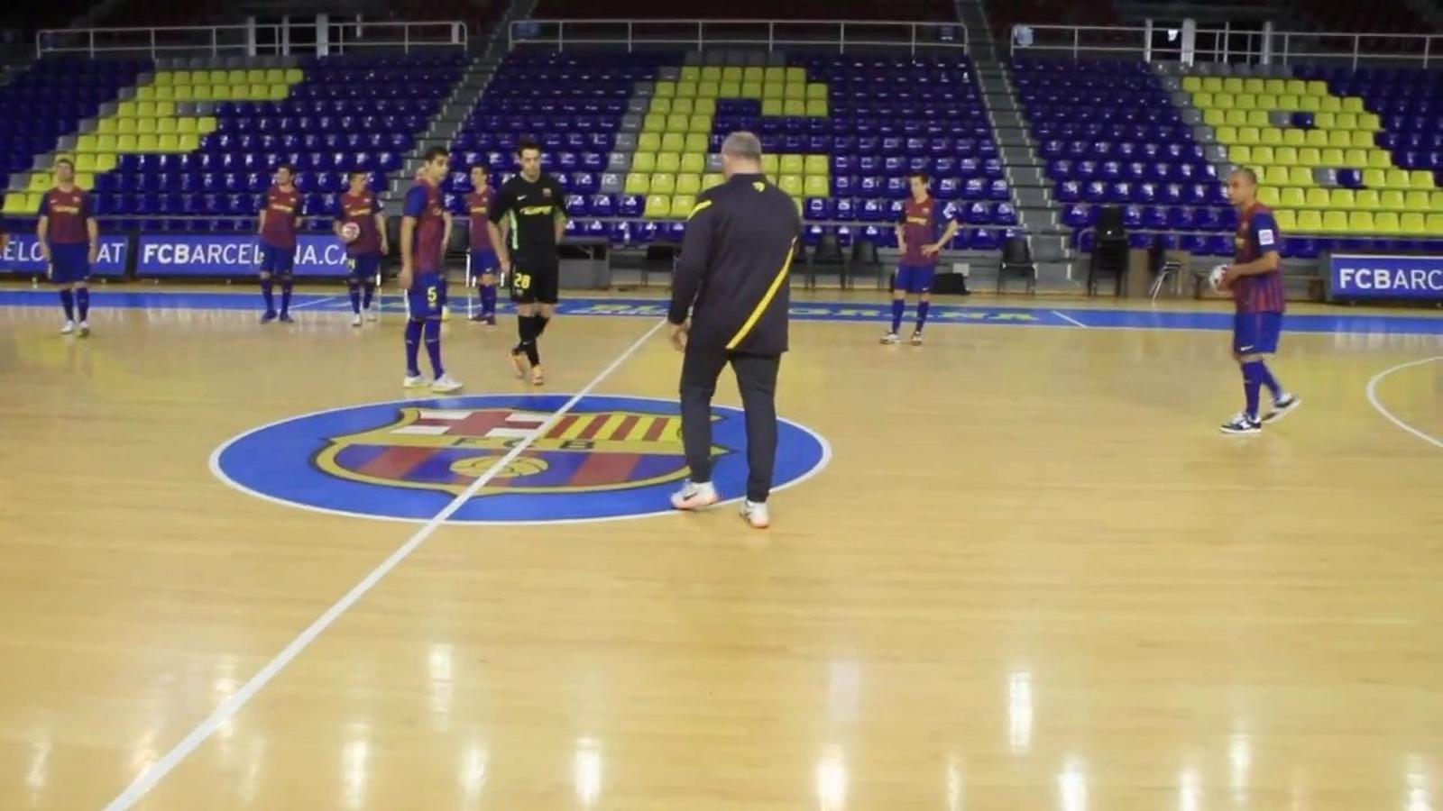 El vídeo més esbojarrat del Barça Alusport