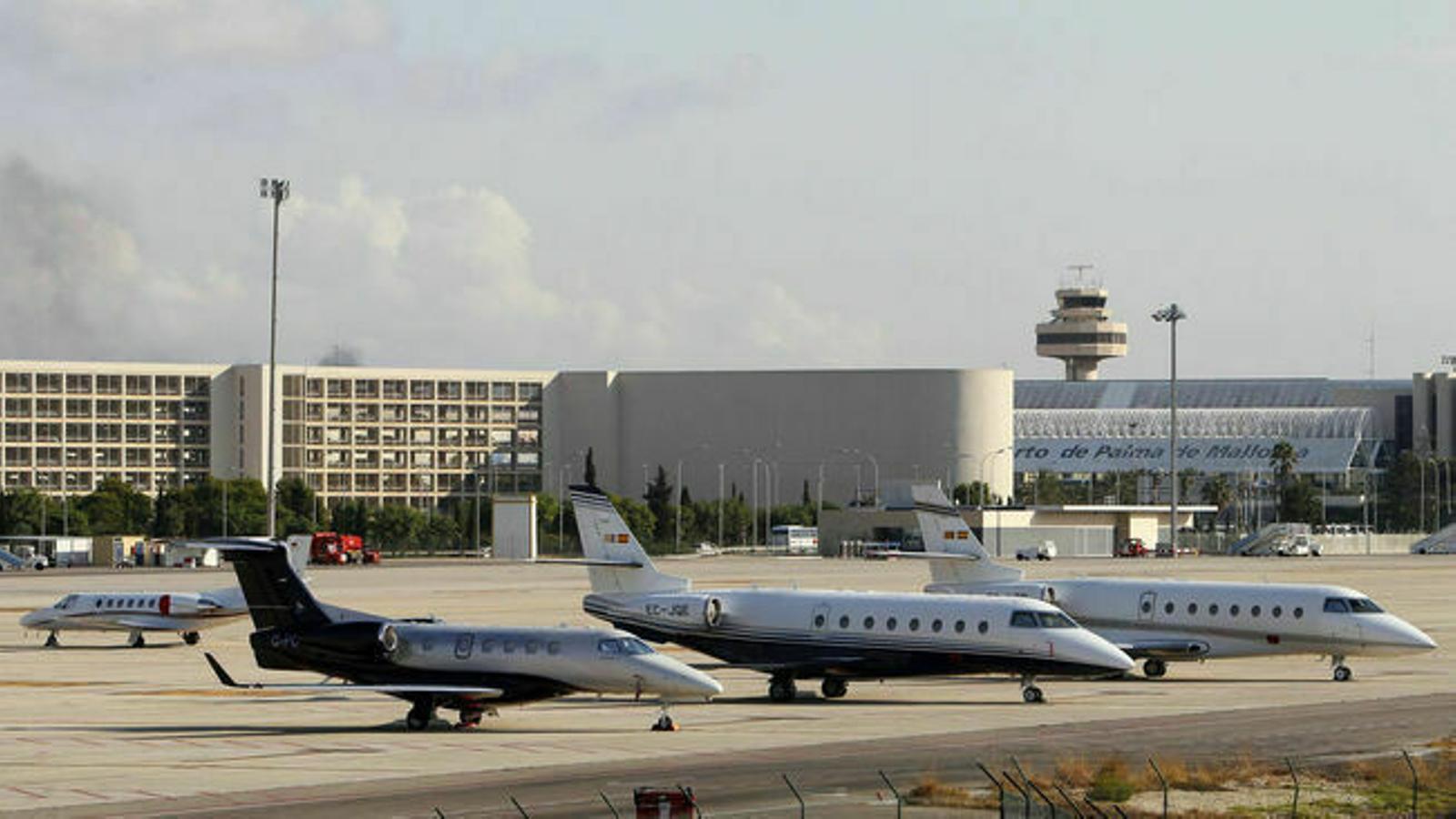 L'aeroport de Palma. / ARXIU