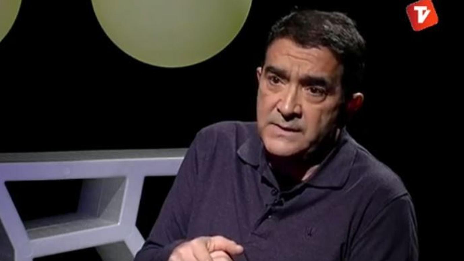 Ferreres, en una entrevista a Canal Terrassa