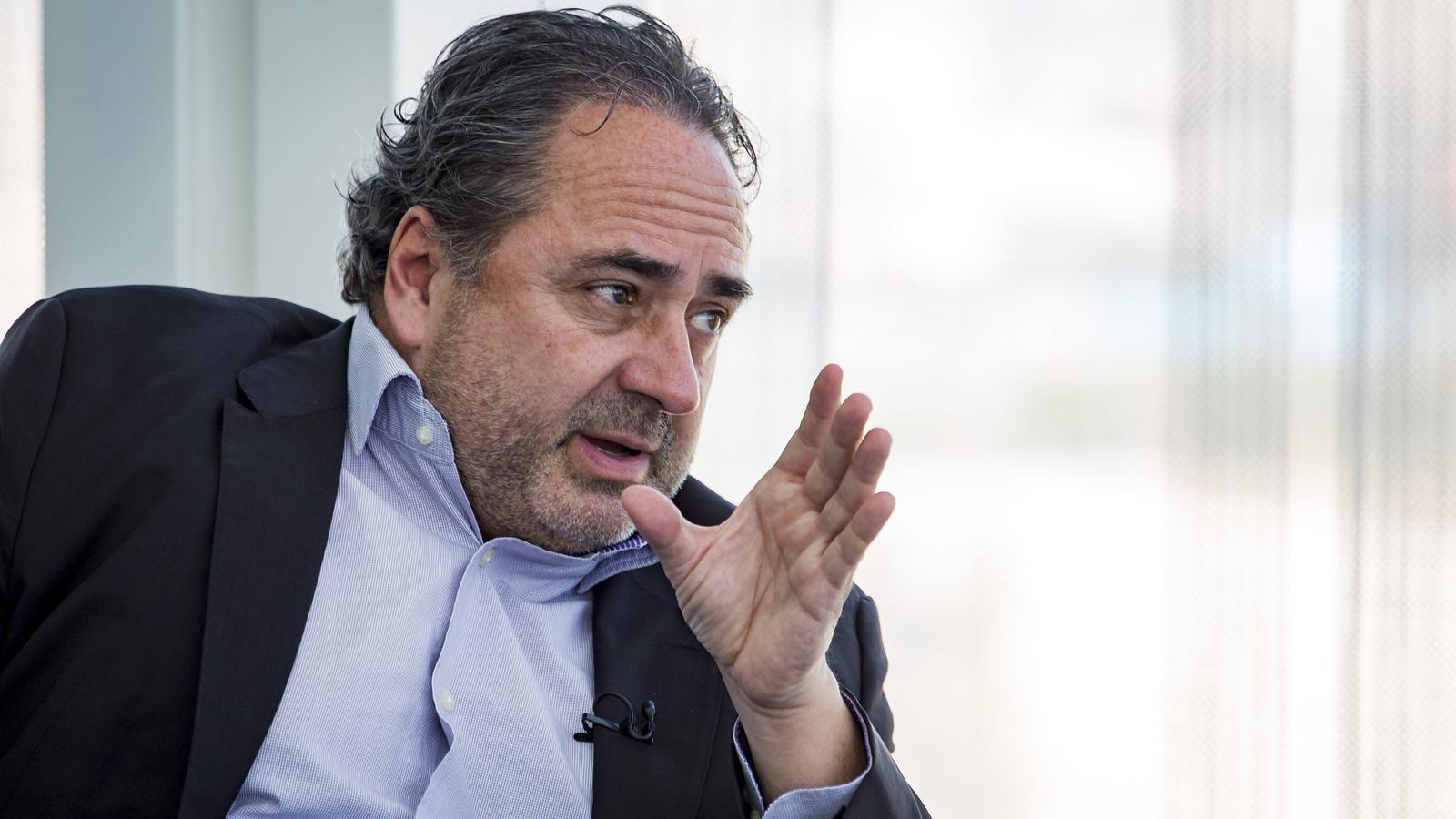 José Manuel Casas és el director general de Telefónica Mediiterrani