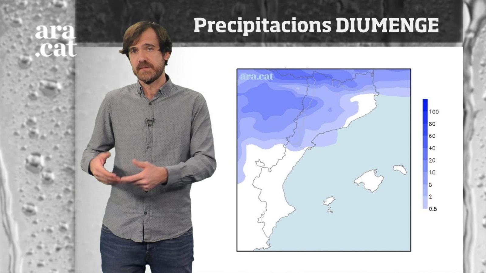 Méteo especial: més opcions de pluja abans de Nadal