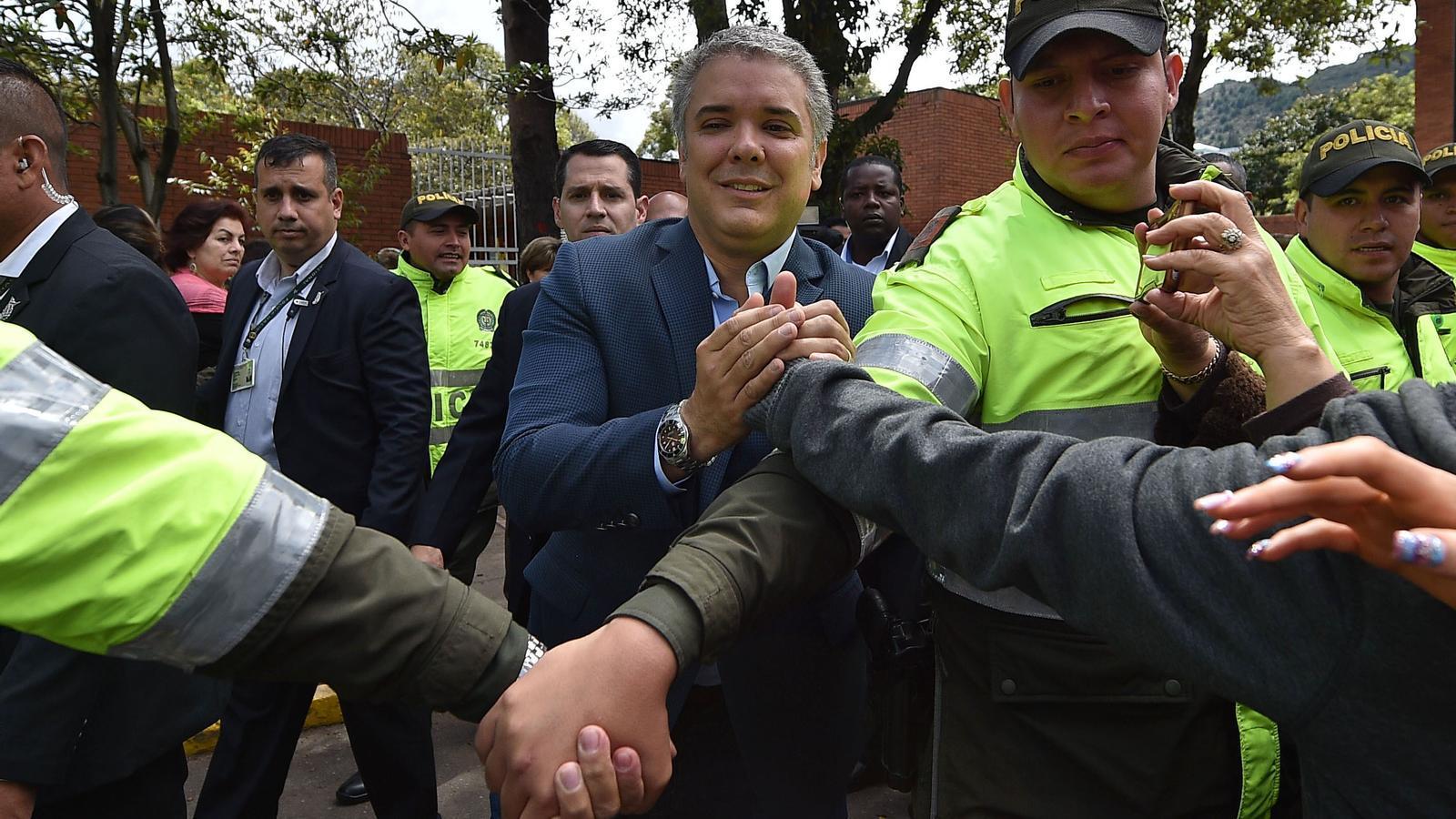 Ivan Duque encapçala el recompte de les presidencials de Colòmbia