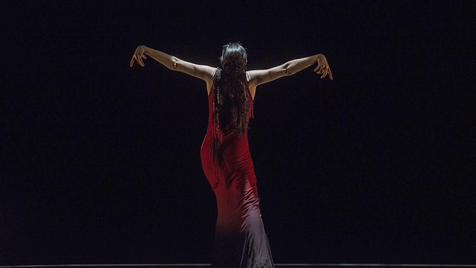 María Pagés balla a la cerca de l'amor