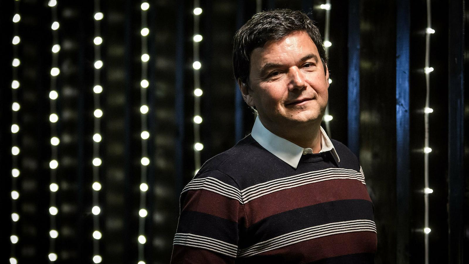 """Thomas Piketty: """"Em disculpo amb els independentistes d'esquerres"""""""
