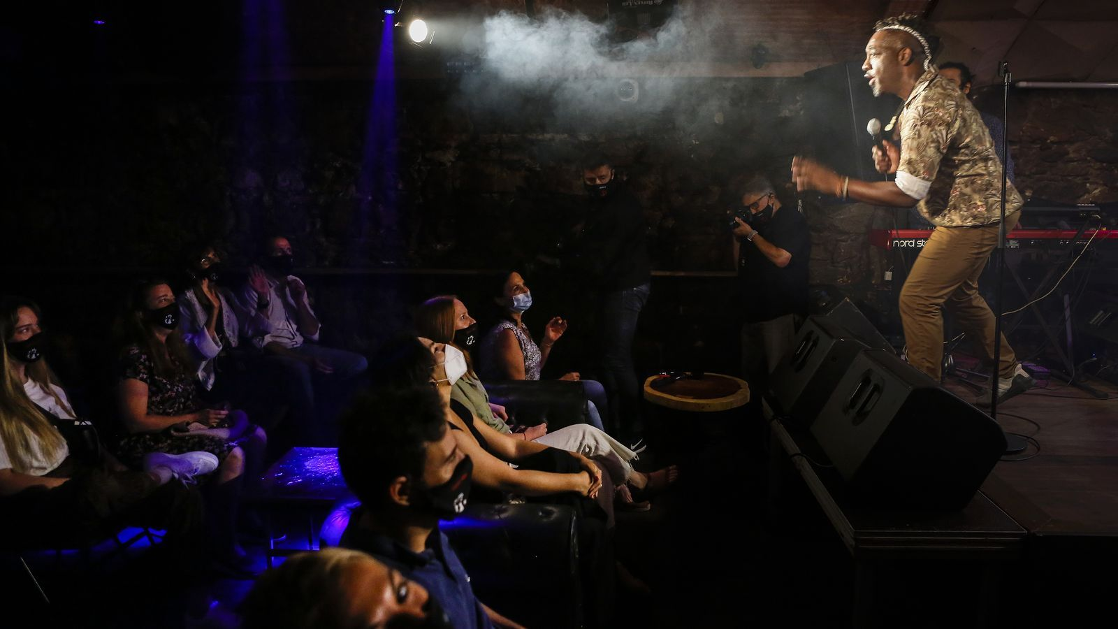 Concert de Clarence Bekker Band al Jamboree de Barcelona el passat mes de maig