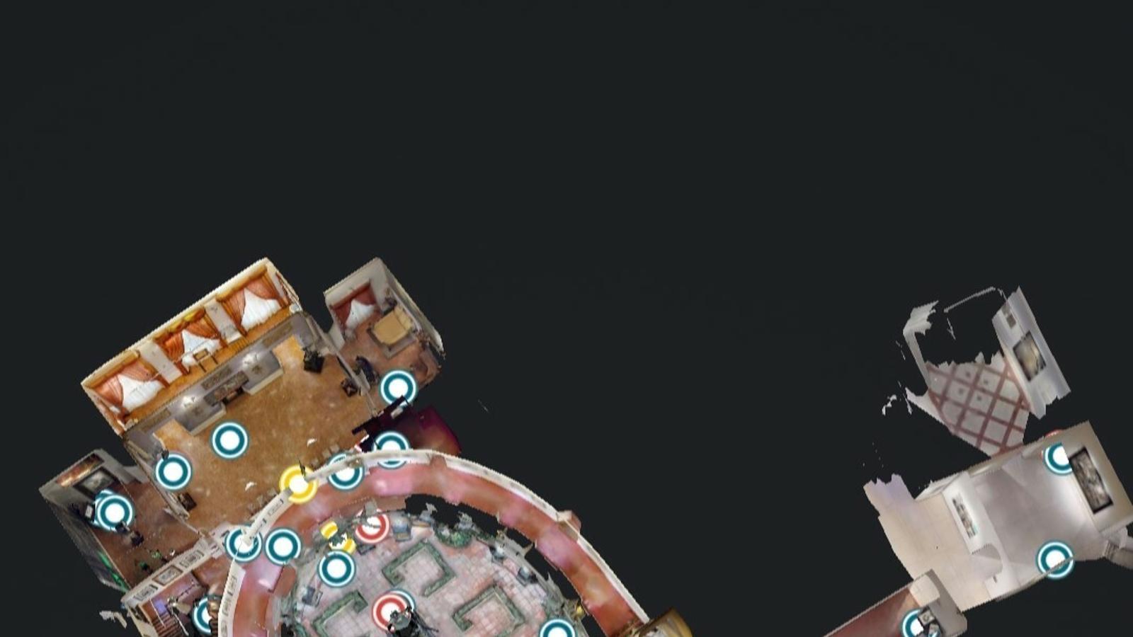 Plànol virtual del Teatre-Museu