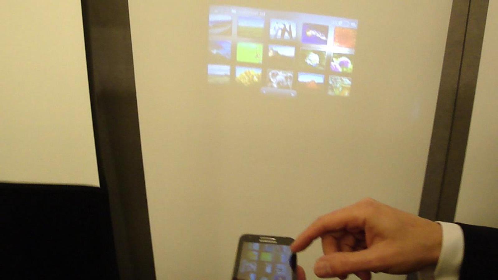 [MWC 2012] Vídeo: Samsung Galaxy Beam