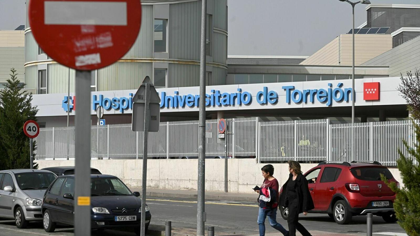 Vista exterior de l'Hospital Universitario de Torrejón (Madrid)