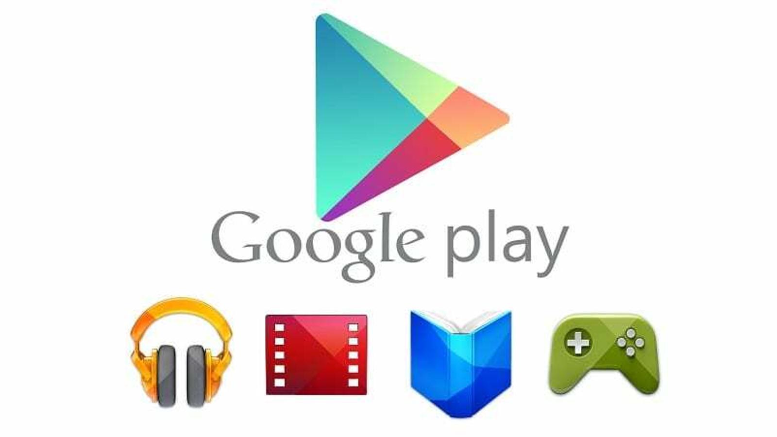 Capçelera de Google Play, la botiga d'aplicacions per plataformes Android. / GOOGLE